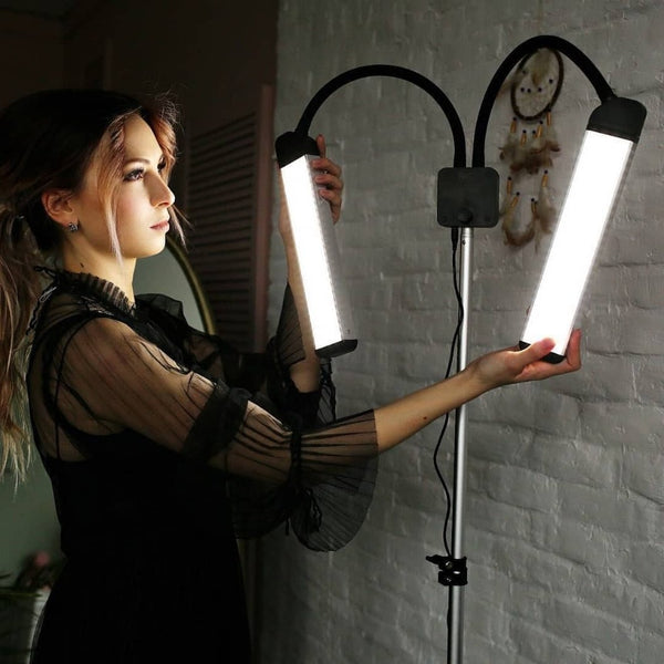 Beauty Lamp 192 LED With Phone Holder - NanoGlow Academy
