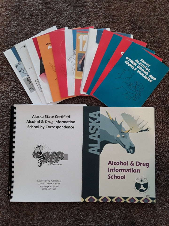 Alaska State Certified Alcohol & Drug Information School by Correspondence