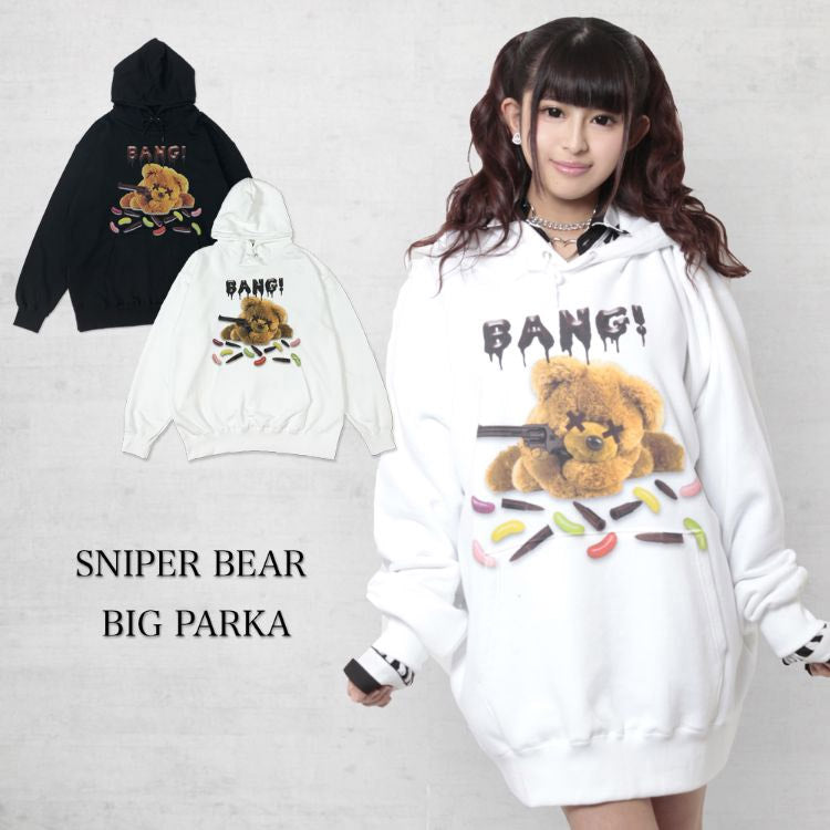 【WRouge】 SNIPER BEAR BIG パーカー