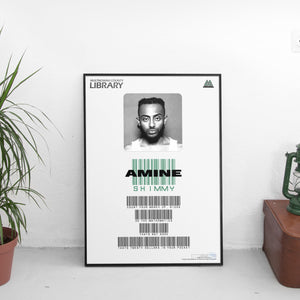 Amine - Shimmy Card Poster - The Fresh Stuff US