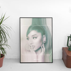 Ariana Grande - Positions Trippy Cover Art Poster - The Fresh Stuff US