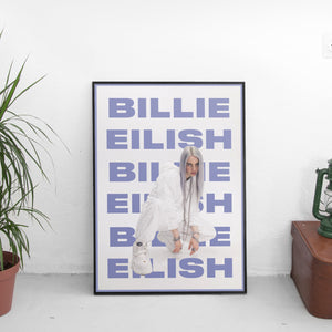 Billie Eilish (Repeat) Poster - The Fresh Stuff US