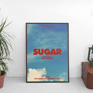Brockhampton - Sugar Music Video Poster - The Fresh Stuff US