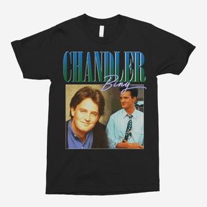 Chandler Bing Vintage Unisex T-Shirt - The Fresh Stuff US