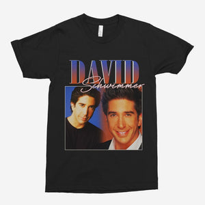 David Schwimmer Vintage Unisex T-Shirt - The Fresh Stuff US