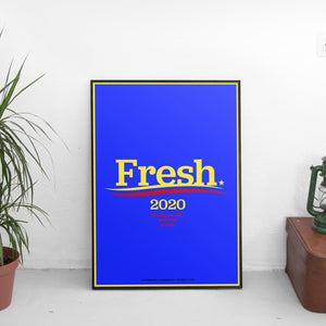 Fresh 2020 Poster - The Fresh Stuff US