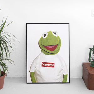 Kermit x Supreme Poster - The Fresh Stuff US