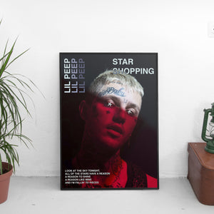 Lil Peep - Star Shopping Poster - The Fresh Stuff US
