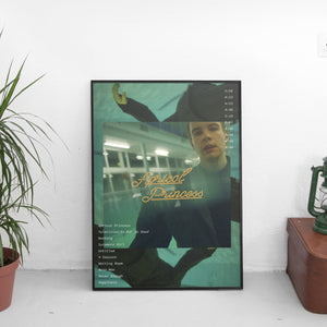 Rex Orange County - Apricot Princess Tracklist Poster - The Fresh Stuff US