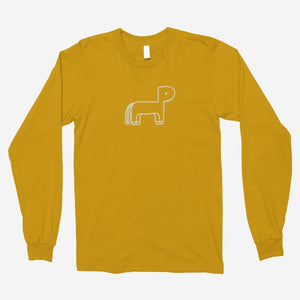 Rex Orange County - Pony Unisex Long Sleeve T-Shirt - The Fresh Stuff US