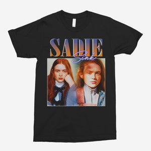 Sadie Sink Vintage Unisex T-Shirt - The Fresh Stuff US