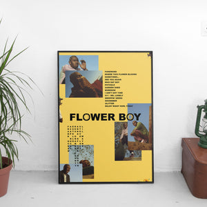 Tyler The Creator - Flower Boy Mismatch Poster - The Fresh Stuff US