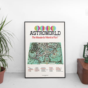 Vintage Astroworld Poster - The Fresh Stuff US