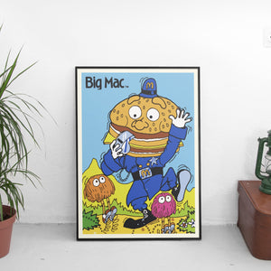 Vintage Big Mac Poster - The Fresh Stuff US