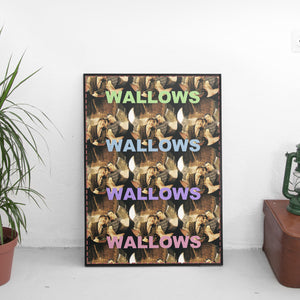 Wallows - Repeat Pastel Poster - The Fresh Stuff US