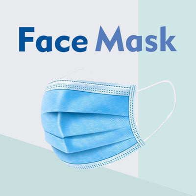 Case Pack of Disposable Face Mask