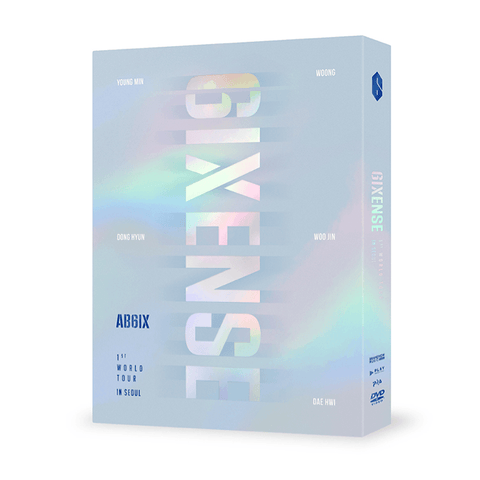 AB6IX 1ST WORLD TOUR 〈6IXENSE〉 IN SEOUL - DVD - OFFICIAL SHOP