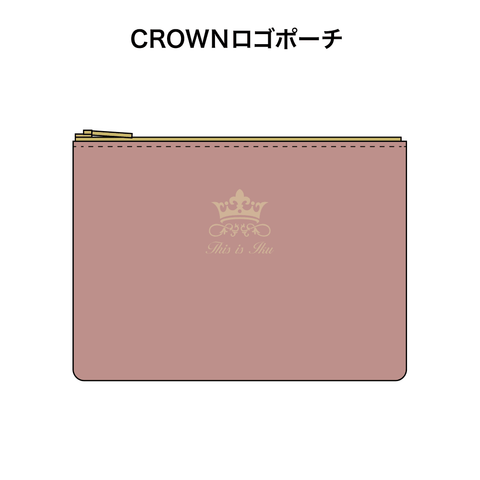 CROWNロゴポーチ - OFFICIAL SHOP