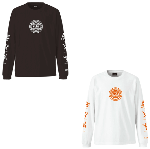 LONG SLEEVE TEE Designed by BEAMS - OFFICIAL SHOP
