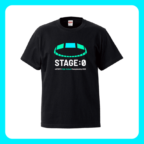 STAGE:0 Tシャツ(黒)2020ver. - OFFICIAL SHOP