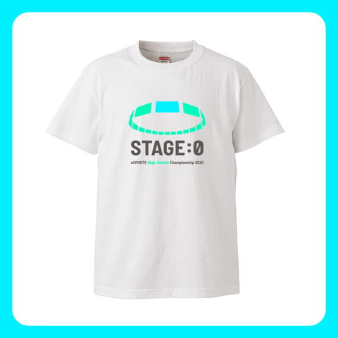 STAGE:0 Tシャツ(白)2020ver - OFFICIAL SHOP