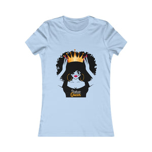 """Status Queen"" Fitted/Women's Favorite Tee"