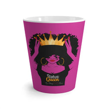 "Load image into Gallery viewer, ""Status Queen"" Collector's Latte Mug"