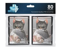 Star City Games Standard Card Game Sleeves 80ct Creature Collection Kitten