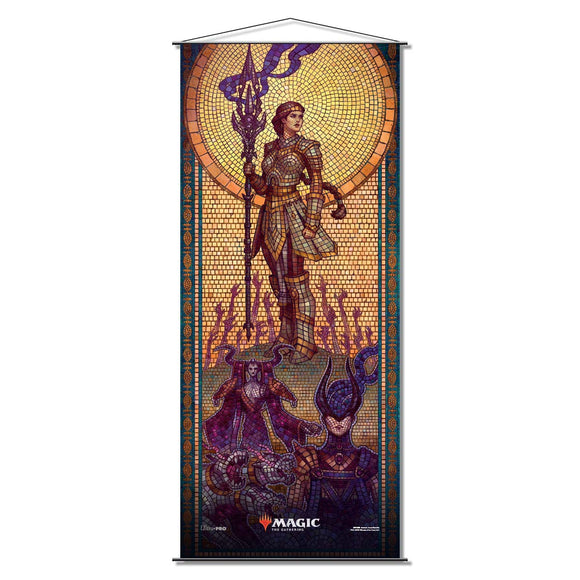 Magic the Gathering Wall Scroll Theros Beyond Death Elspeth Conquers Death (18238)
