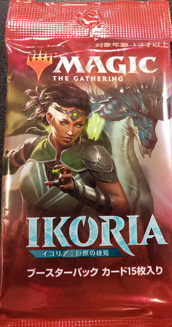 MTG: Ikoria Japanese Booster Pack