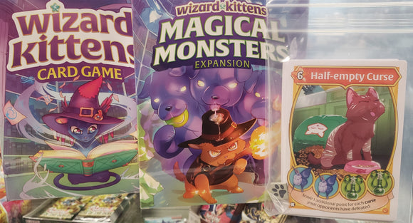 Wizard Kittens Kickstarter Edition + Magical Monsters Expansion Bundle