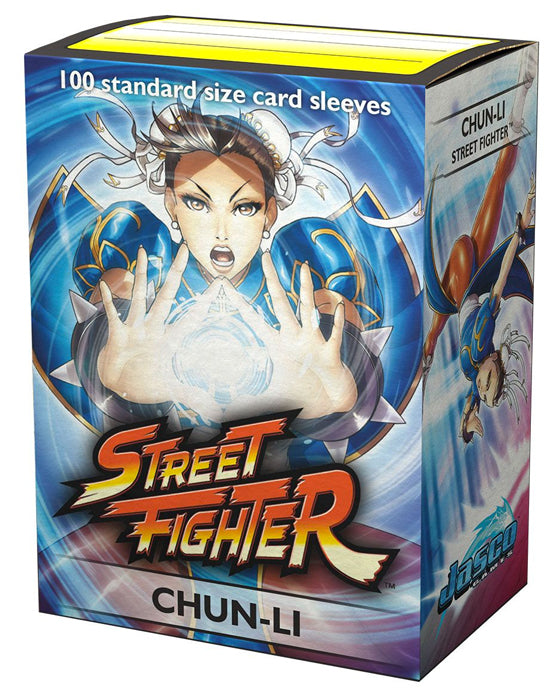 Dragon Shield Classic Art Standard Sleeves 100ct Street Fighter Chun-Li