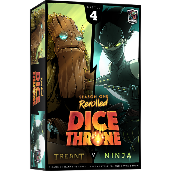 Dice Throne S1R Treant/Ninja