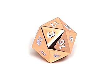 Easy Roller Rose Gold White Single D20