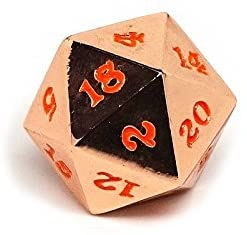 Easy Roller Rose Gold Orange Single D20