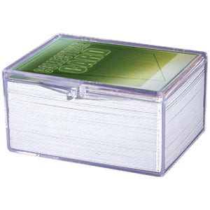 Ultra Pro Clear Hinged 100 Card Box (43005)