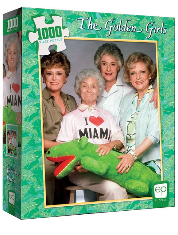 The Golden Girls - I Heart Miami 1000pc Puzzle