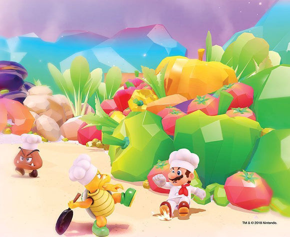 Super Mario Luncheon Kingdom 200pc Puzzle