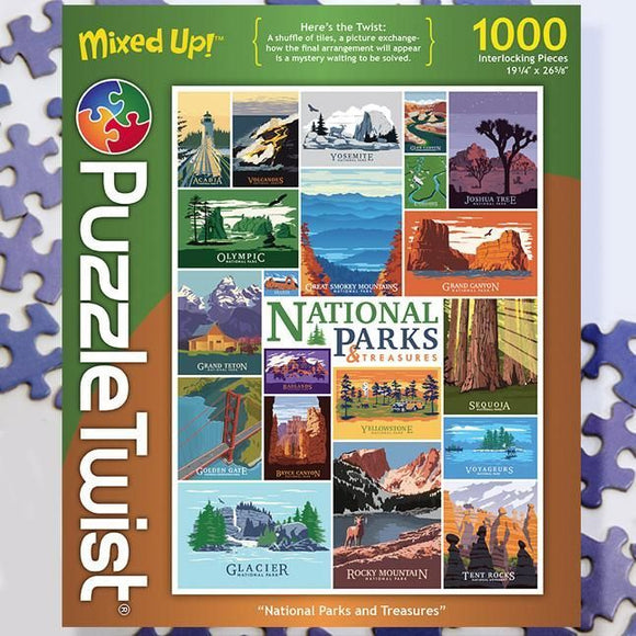 Nation Parks & Treasures 1000ct Puzzle