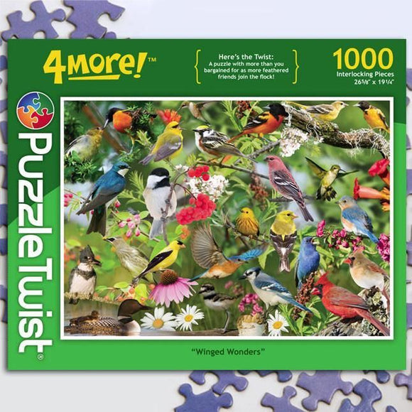 Winged Wonders 1000ct Puzzle