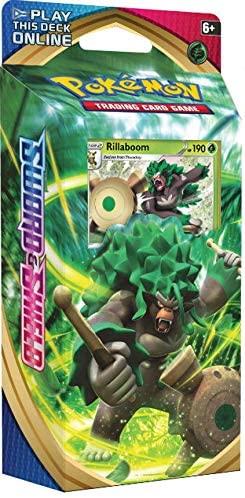 Pokemon TCG Sword & Shield Rillaboom Theme Deck