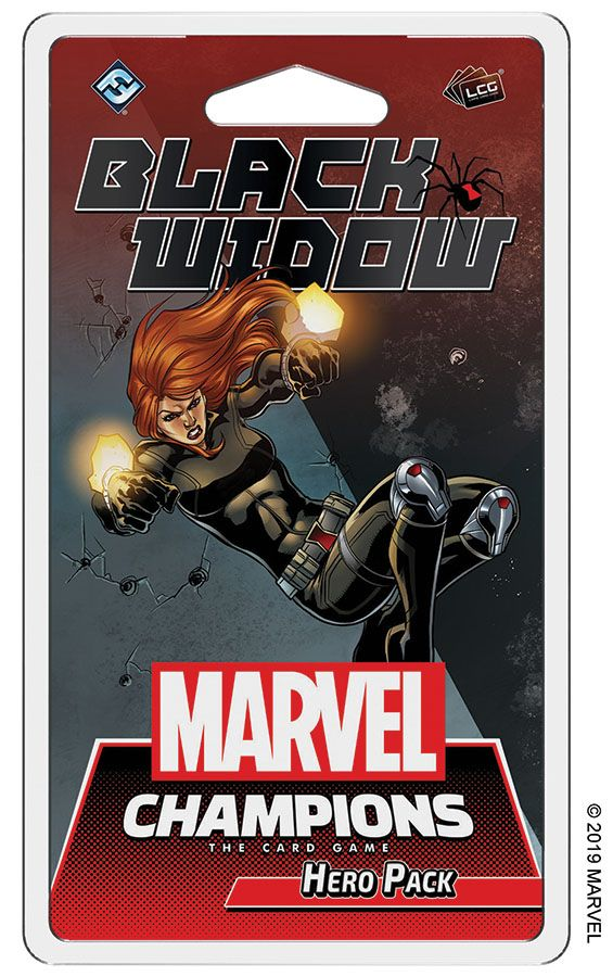 Marvel Champions: The Living Card Game - Black Widow Hero Pack
