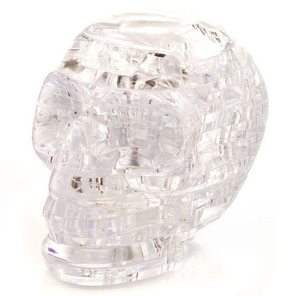 3D Crystal Puzzle: Skull Clear