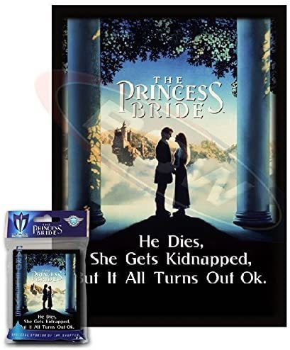 Max Protection Standard Card Sleeves 50ct The Princess Bride