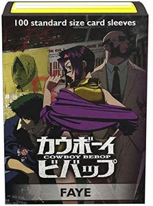 Dragon Shield Classic Art Standard Sleeves 100ct Cowboy Bebop Faye Valentine