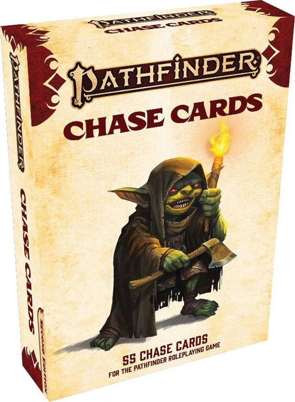 Pathfinder 2e RPG Chase Cards Deck