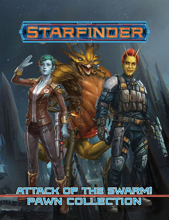 Starfinder RPG Attack of the Swarm! Pawn Collection