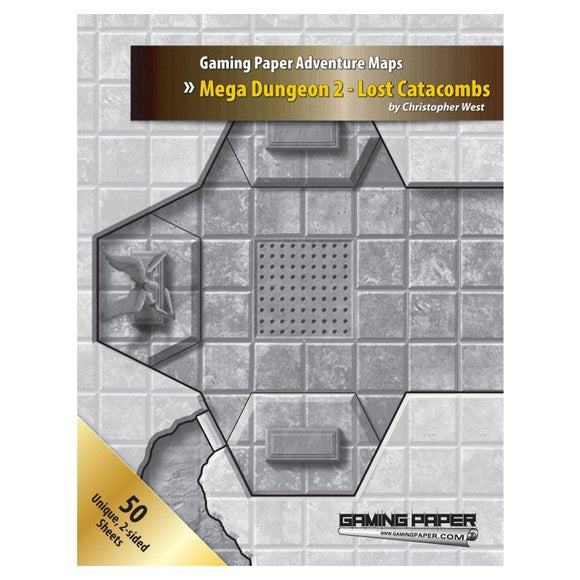 Gaming Paper Advanced Mega Dungeon 2 - Lost Catacombs