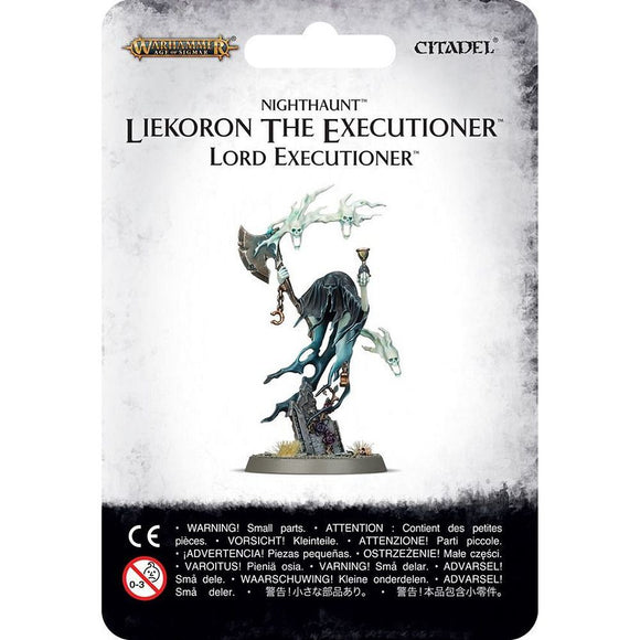 Warhammer Age of Sigmar Nighthaunt Liekoron the Executioner