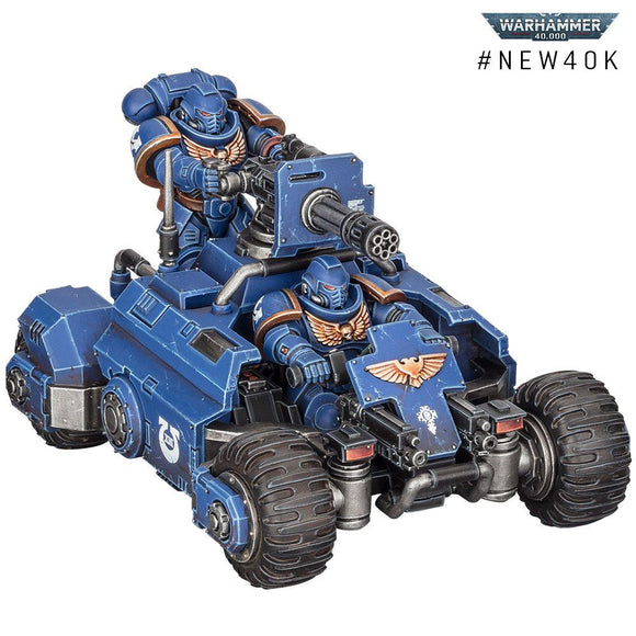 Warhammer 40,000: Space Marine Invader ATV